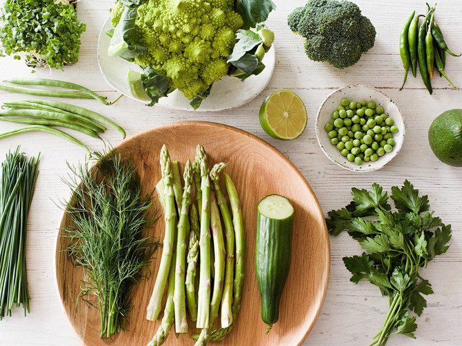 Zelen tanjir je put do zdravlja