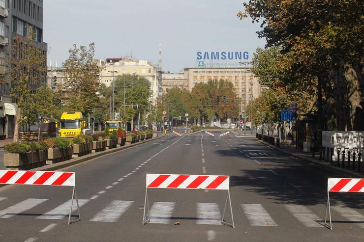 prajd, ulice beograda, policija, parada ponosa