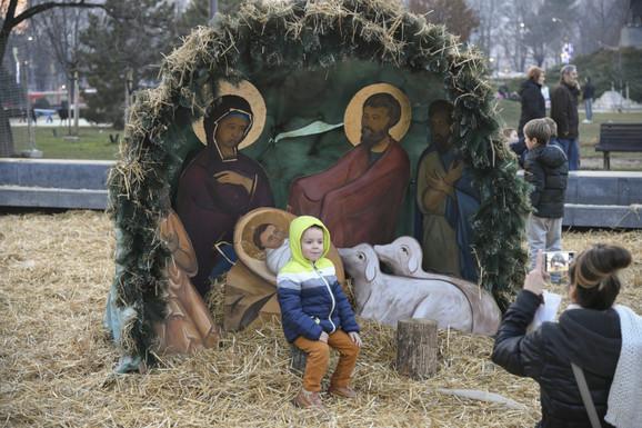 Tokom božićnih praznika najviše su uživali mališani
