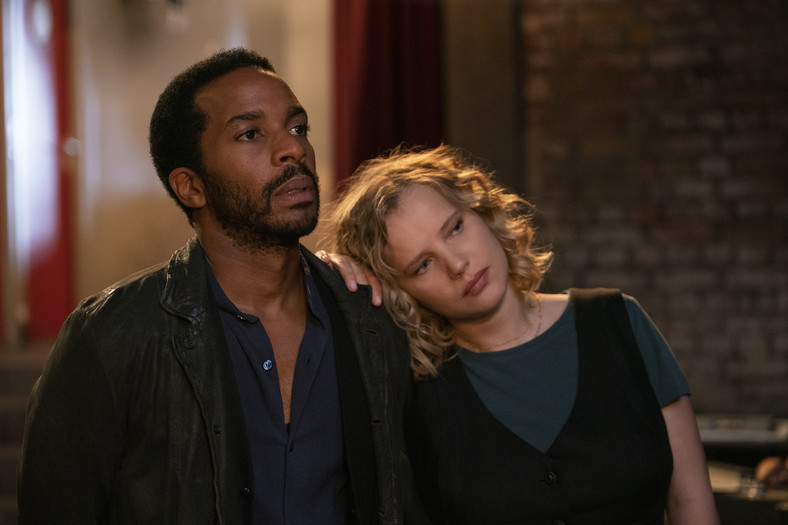 "Andre Holland i Joanna Kulig w serialu ""The Eddy"""
