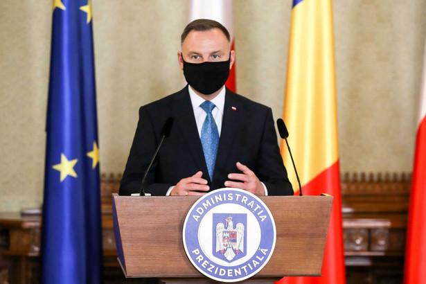 Andrzej Duda w Rumunii