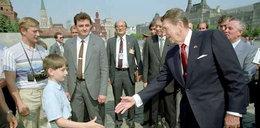 Tak młody Putin szpiegował Reagana