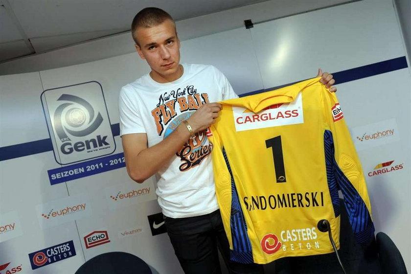 Sandomierski: Dogadałem się z Genk w kilka godzin