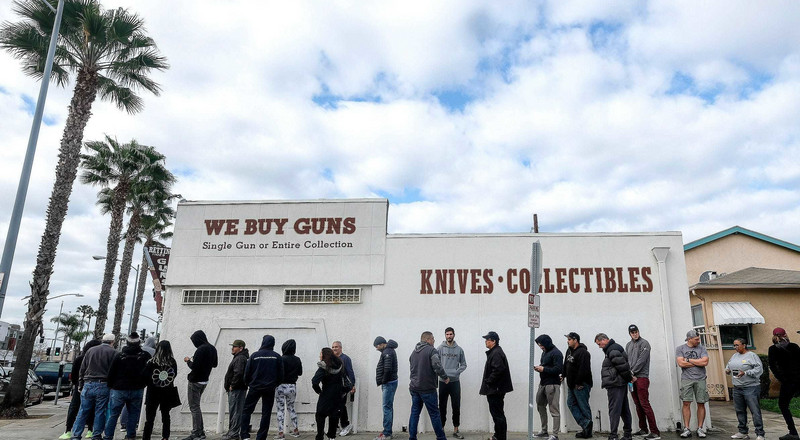 Gun sales boomed in 2020, with background checks hitting record highs as millions of people bought guns for the first time