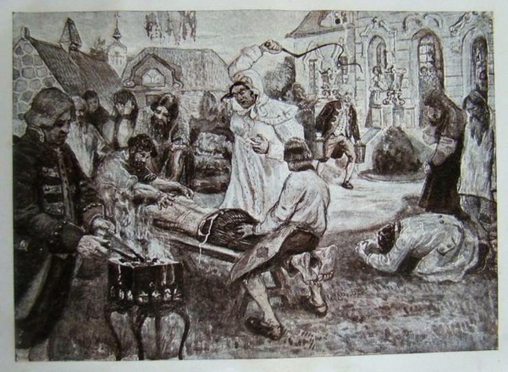 Darja Saltikova muči sluge public domain