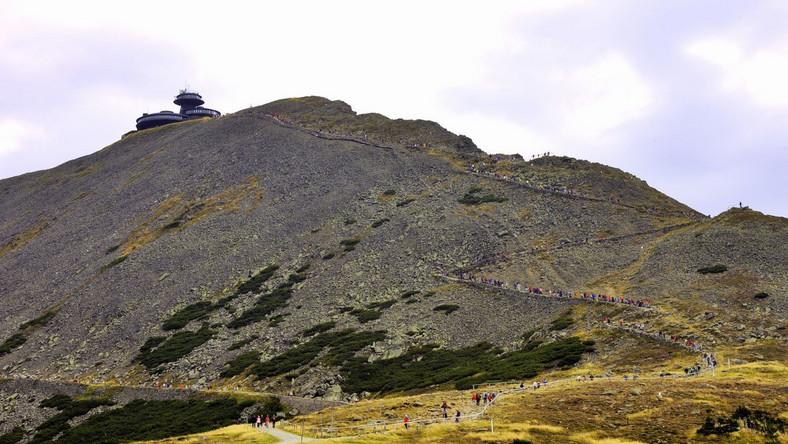 Warunki do uprawiana turystyki w górach są bardzo dobre