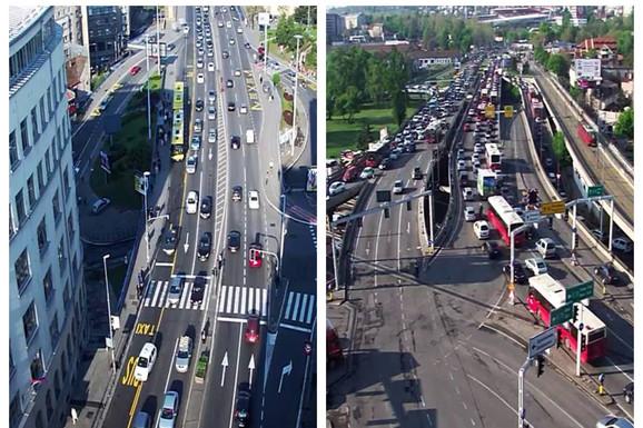 NAORUŽAJTE SE STRPLJENJEM Očekuje se pojačan intenzitet saobraćaja zbog praznika