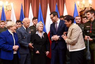Premier spotkał się ze Sprawiedliwymi wśród Narodów Świata