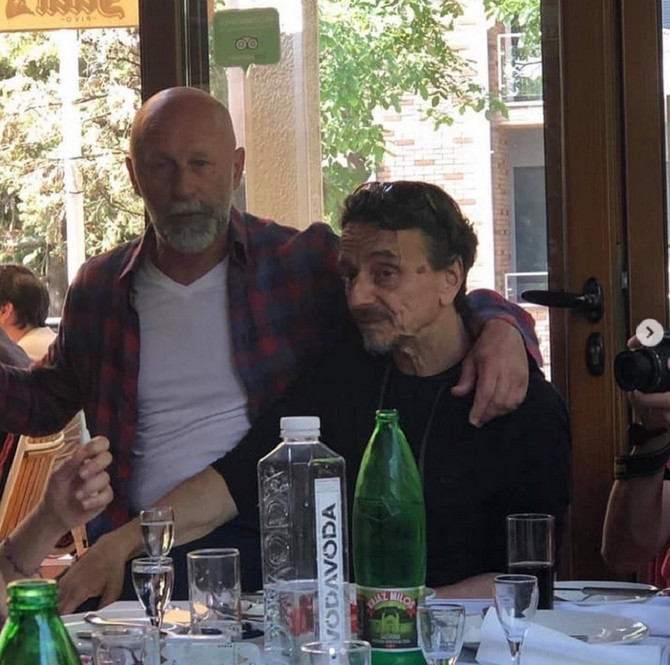 Radovan i Žika 2019. u Beogradu