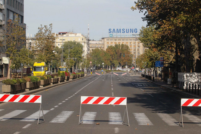 Blokade će biti na mnogim ulicama