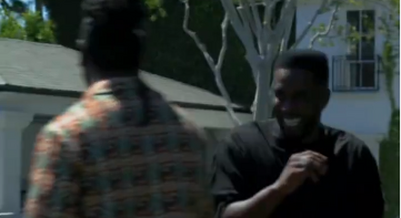 Burna Boy and Diddy link up in LA  (Insatgram/Diddy)