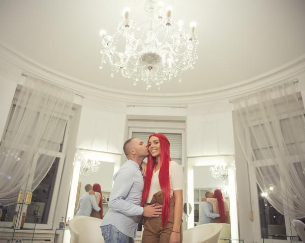 Anastasija Ražnatović i Stevan Radivojević