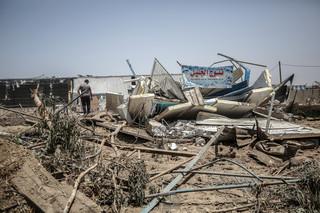 Palestyńczycy: W ponad 130 izraelskich atakach zginęło ok. 30 osób