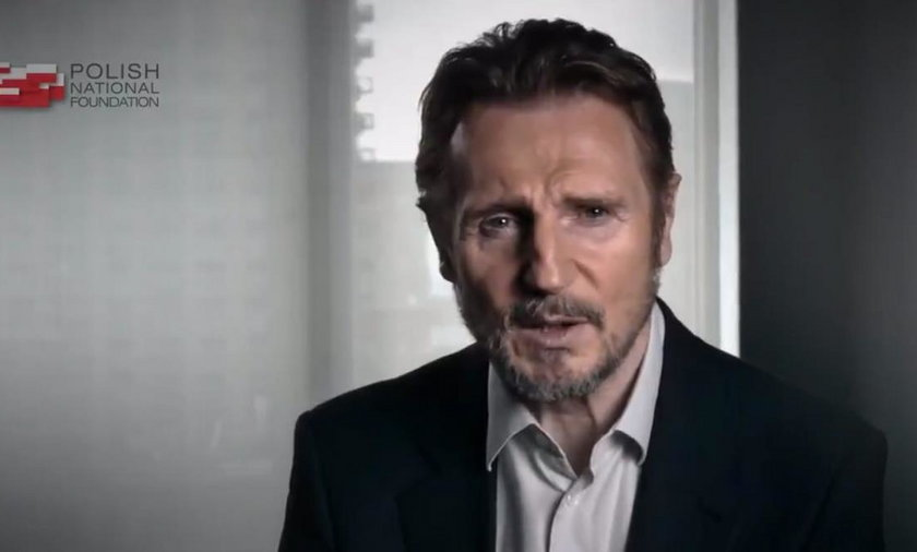 Liam Neeson w spocie PFN