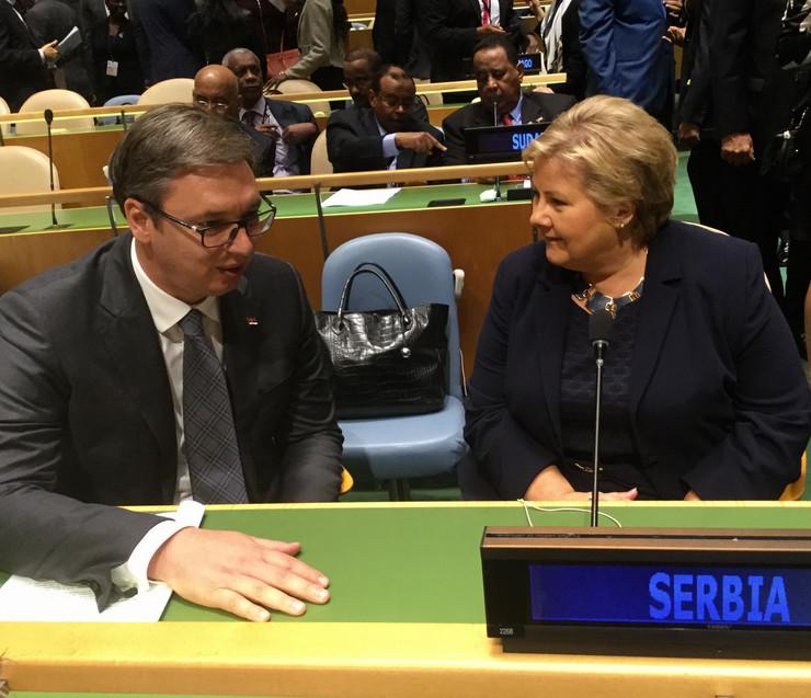 Vučić u UN
