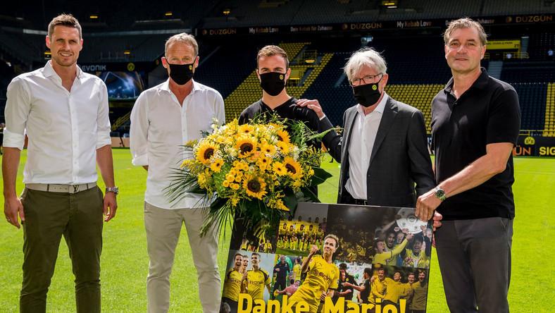 Goetze został pożegnany w czerwcu w Dortmundzie