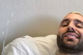 "OPERISAN Pevač se oglasio iz bolničkog kreveta: ""Idemo dalje!"""