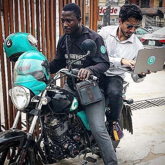 Fahim Saleh founded Gokada on his adventure in Lagos, Nigeria (Instagram/Fahim Saleh)
