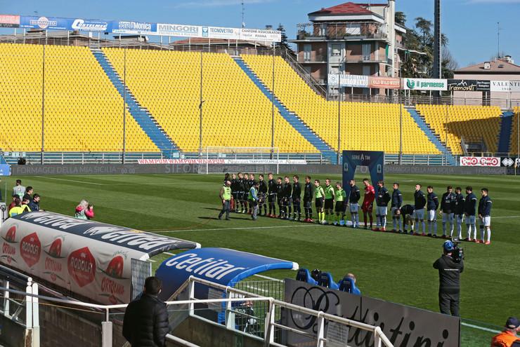 Detalj sa utakmice Serije A odigrane bez prisustva publike