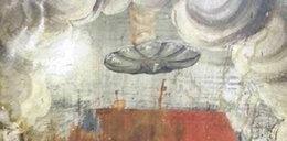 UFO na fresku w słynnej bazylice!