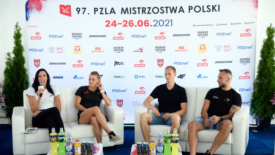 Konferencja przed MP w lekkoatletyce w Poznaniu