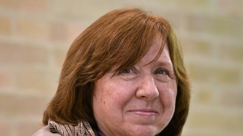 Belarusian writer Svetlana Alexievich was awarded the 2015 Nobel Literature Prize