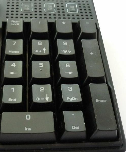 Numpad klawiatury QPAD MK-70, fot. własne