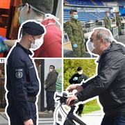 koronablog 06 RAS Aleksandar Dimitrijevic, Vladimir Lojanica, Zoran Iic, Branko Janackovic