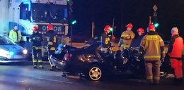 Śmiertelny wypadek w Warszawie. Duże utrudnienia