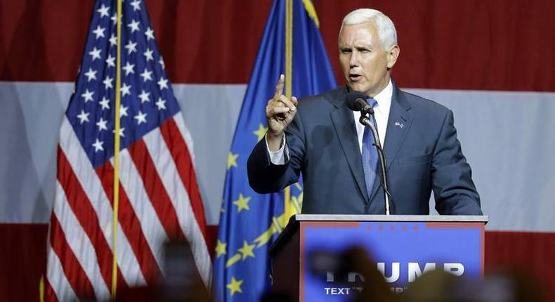 File image of Mike Pence