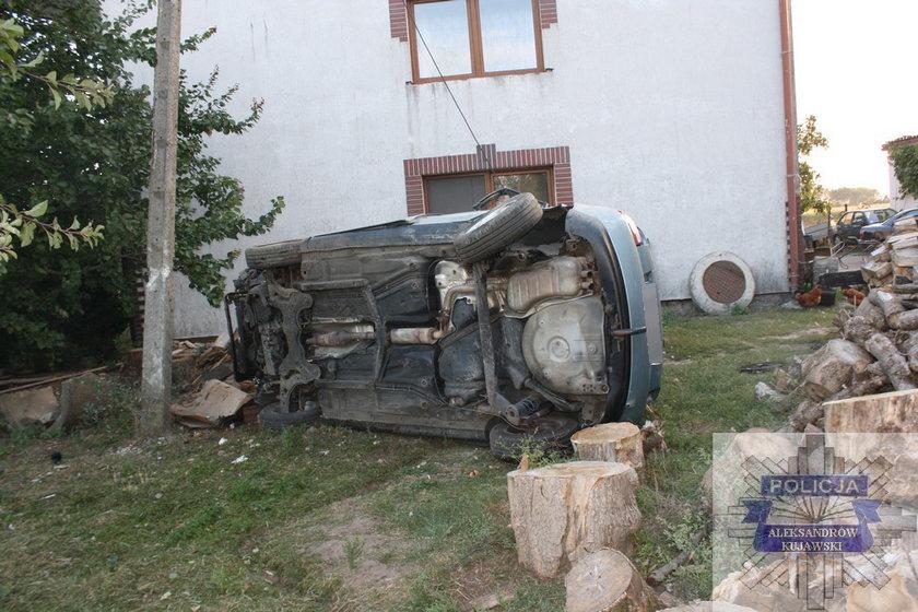 Wypadek w Plebance na Kujawach