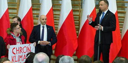 Andrzej Duda ogłosił swój start w wyborach. W Lubartowie doszło do incydentu...