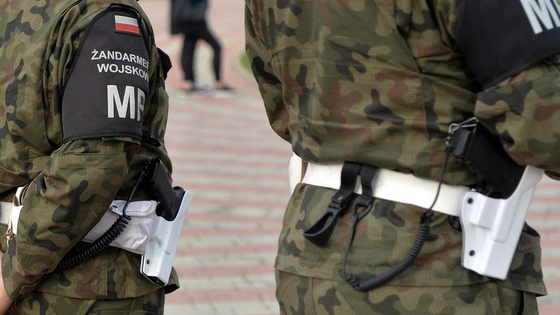 Mazowiecki Oddział Żandarmerii Wojskowej zatrzymał dzisiaj rano dwóch żołnierzy