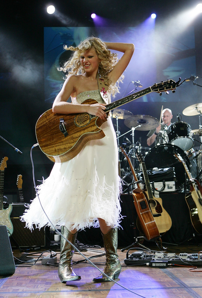 Taylor Swift w 2007 roku