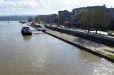 Novi Sad 53 Dunav visok vodostaj foto Nenad Mihajlovic