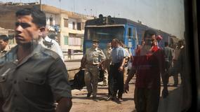 Podróżowanie pociągiem po Egipcie