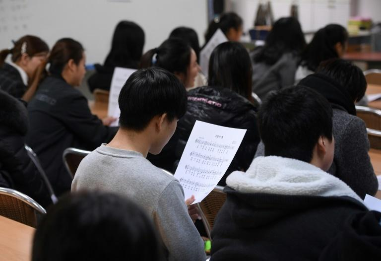 One of the most important subjects in the North Korean education curriculum is revolutionary studies, which focuses on the ruling Kim family, so it is a shock for those coming to South Korea to see how different schooling is