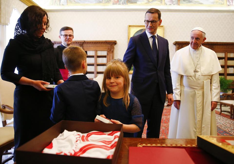 Spotkanie z papieżem Franciszkiem