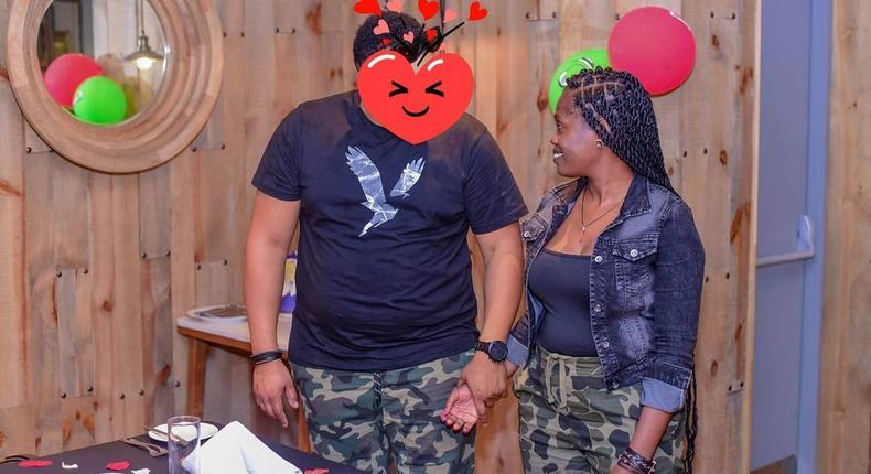 Singer Betty Bayo introduces her new man to the world (Photos)