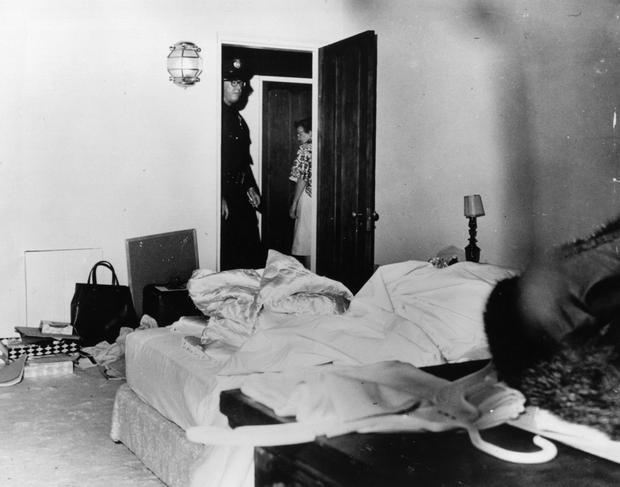 Pokój, w którym znaleziono ciało Marilyn Monroe (fot. Getty Images)