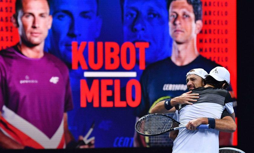 Wygrana Kubota i Melo na pożegnanie