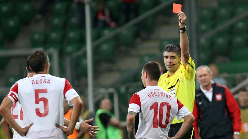 Ludovic Obraniak ukarany czerwoną kartką w meczu towrzyskim z Meksykiem