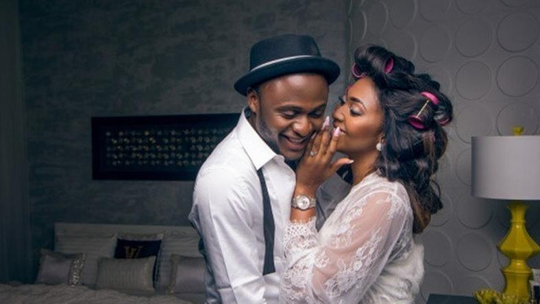 Lilian Esoro and Ubi Franklin celebrate one year anniversary