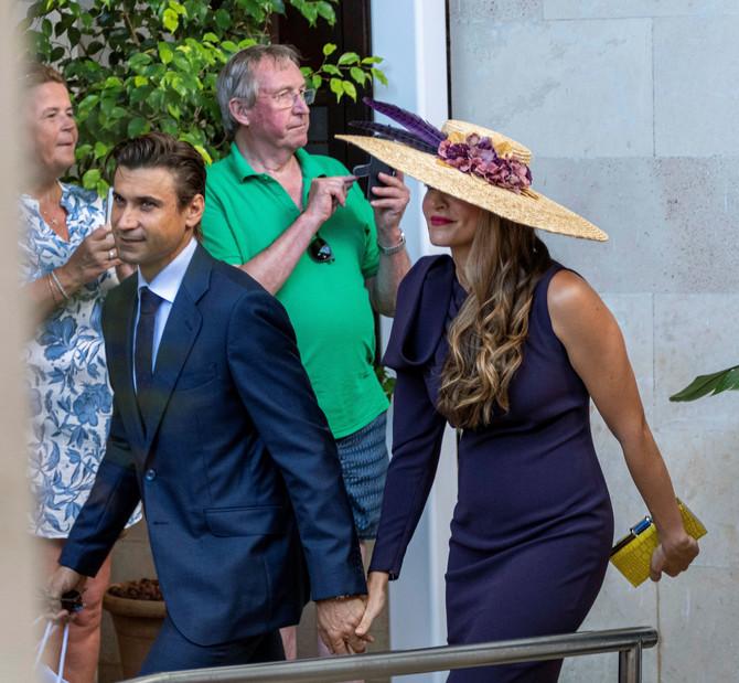 Marta i David: pogledajte njen šešir