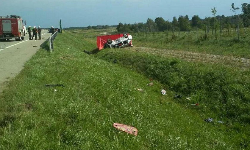 Horror na autostradzie A1. Zginęła kobieta w ciąży