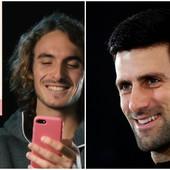 """URNEBESNA SCENA ZBOG """"PROMEŠANOG NOVAKA"""" Vodeći teniseri sveta prasnuli u smeh zahvaljujući našem asu /VIDEO/"""