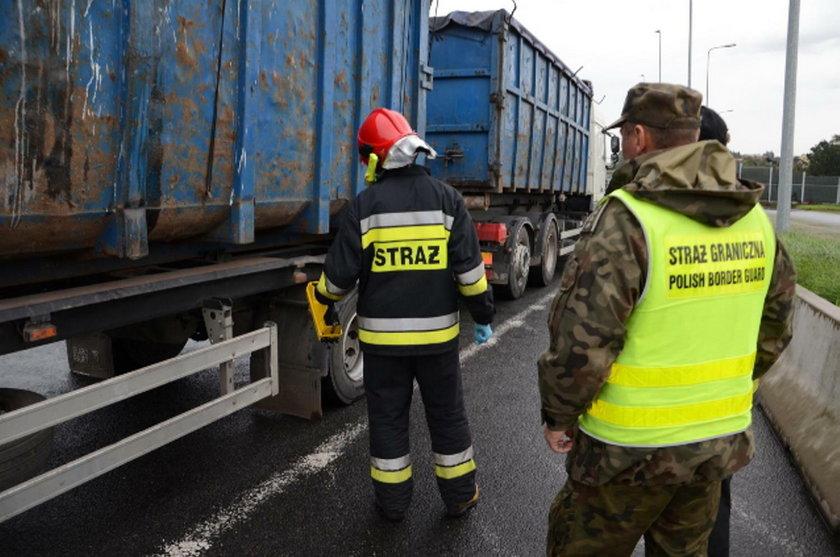 Wieźli do Polski kilkadziesiąt ton toksycznych odpadów. Miały trafić do huty