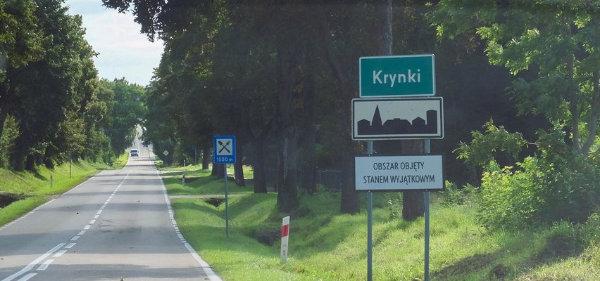 Nieoczekiwane problemy polskich służb na granicy z Białorusią. Miejscowi nie kryją złości. Jaki mają problem?