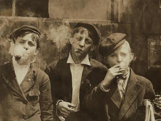 boys, child labor, smoking, newsies, historical,