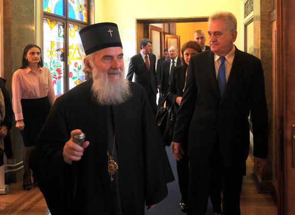 Patrijarh Irinej: Nećemo javnosti staviti na uvid pismo koje je prosleđeno državnom vrhu